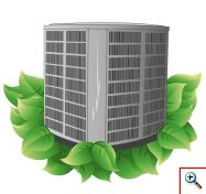 Efficient cooling and heating systems